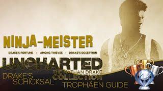 Video Uncharted 1 Drake's Schicksal Remastered Trophäen Guide - Ninja-Meister - Nathan Drake Collection download MP3, 3GP, MP4, WEBM, AVI, FLV Juli 2017