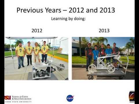 nasa robotics mining competition