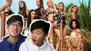 BROERTJE REAGEERT OP TEMPTATION ISLAND!
