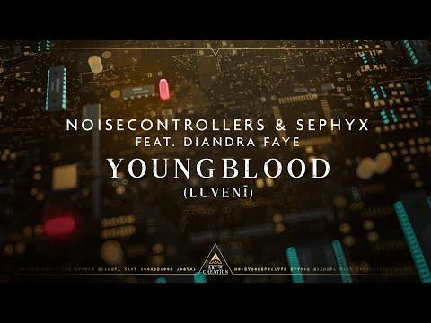 Смотреть клип Noisecontrollers & Sephyx Ft. Diandra Faye - Youngblood