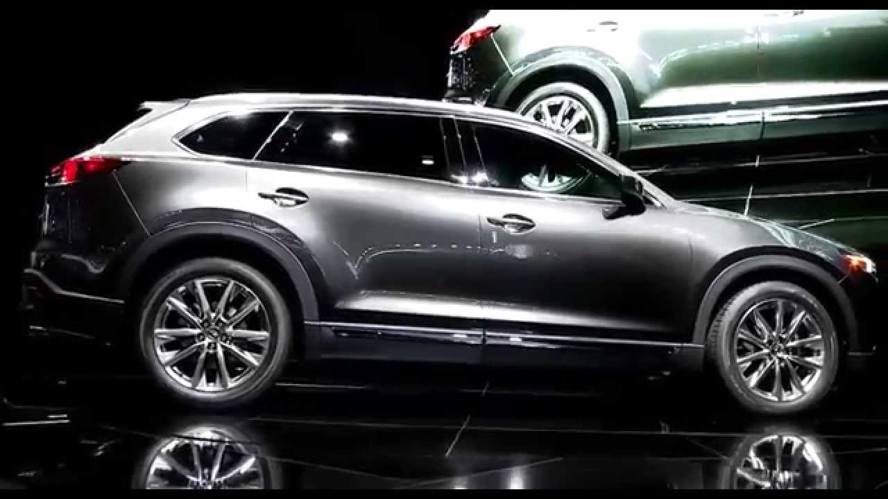 Mazda Cx 9 >> The 2016 Mazda CX-9 Reveal from LA Auto Show - YouTube