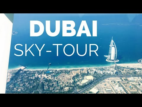 Dubai Top Attractions - Visit the city from the sky with Seawings