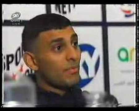 Naseem Hamed slagging off Barry McGuigan