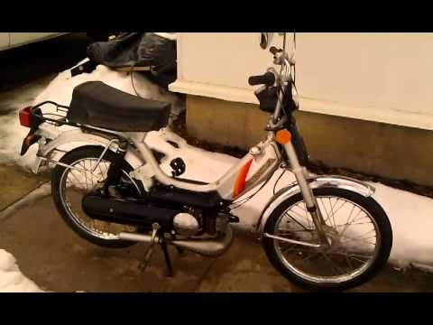 hqdefault 1983 honda pa50 ii silver youtube 1978 honda pa50 wiring diagram at gsmx.co