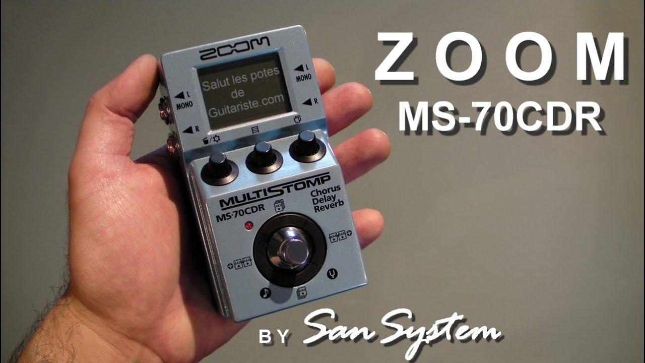 zoom ms 70cdr part 1 3 chorus youtube. Black Bedroom Furniture Sets. Home Design Ideas