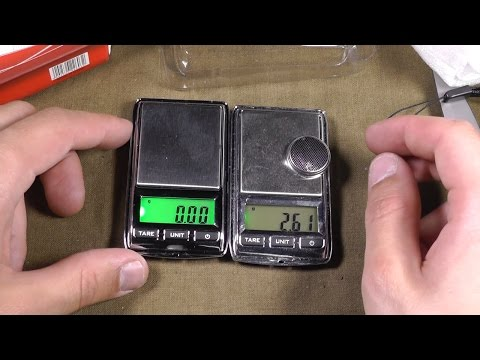 Про электронные мини весы (карманные). Обзор и сравнение