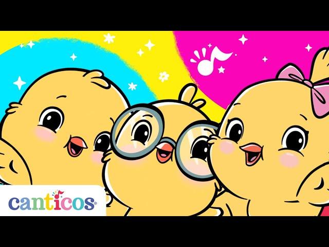 Canticos | Canciones infantiles en español | Canta con los pollitos Ricky, Kiki y Nicky
