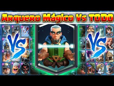 Arquero Magico Vs Todas las cartas de Clash Royale