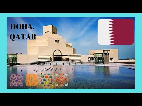 QATAR, EXPLORING the spectacular MUSEUM OF ISLAMIC ART in DOHA (designed by  I.M. Pei)