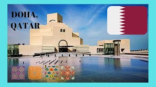 QATAR, the spectacular MUSEUM OF ISLAMIC ART in DOHA (designed by  I.M. Pei)