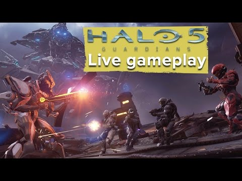 110 minutes of Halo 5: Guardians gameplay - Missions 1 to 3 (LIVE)