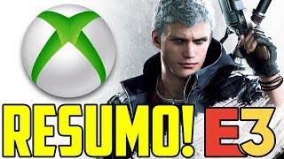 DEVIL MAY CRY 5 ! - RESUMO CONFERÊNCIA MICROSOFT XBOX - E3 2018