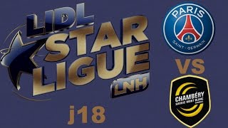 Paris-SG VS Chambéry Handball LIDL STARLIGUE j18