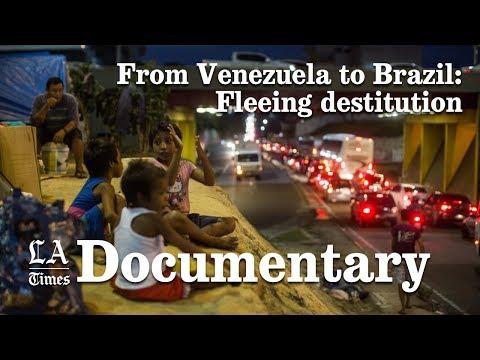Venezuelans fleeing to Brazil
