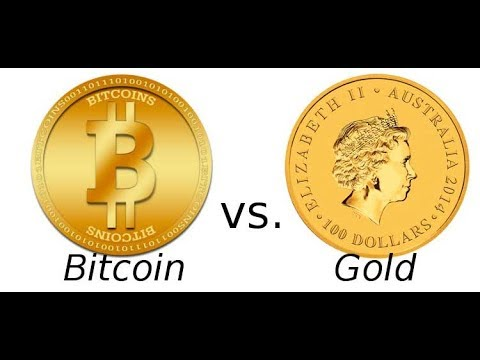 Bitcoin VS Gold, which one is better.