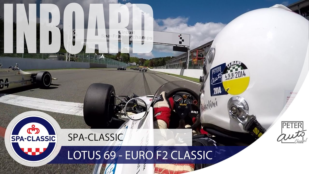 Vintage Lotus 69 Formula 2 amazing sound at Spa-Francorchamps - YouTube
