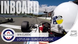 Vintage Lotus 69 Formula 2 amazing sound at Spa-Francorchamps