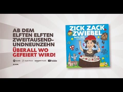 [Videoclip]  Zick Zack Zwiebel - Betty BBQ Feat. PARTYTIER