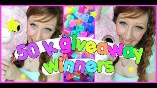 50k  Giveaway Winners Thumbnail