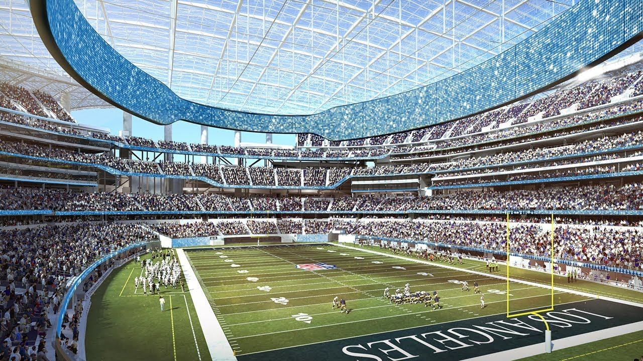 Top 5 Stadium Builds By 2020 The B1m Youtube