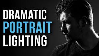 Dramatische PORTRÄTS mit EINER LICHT - | Foto-Beleuchtung-Tipps & Tricks