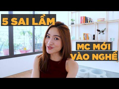 5 sai lầm của MC mới vào nghề   Nghề MC   iammaitrang