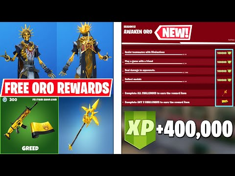 "NEW ""Awaken Oro"" Challenges! Free Rewards & 400,000 FREE XP! - 동영상"