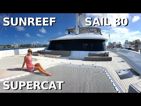 "SUNREEF 80 SAIL CATAMARAN ""ENDLESS HORIZON"" SuperYacht Tour / Liveaboard Charter Yacht Sailing Boat"