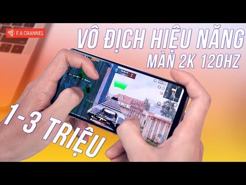 TOP 8 Smartphone 1-3 Triệu Vô Địch Cấu Hình Hiệu Năng - Màn Hình 2K+ 120Hz, Snapdragon 835,845!