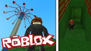 SCARY MAZE AND BIGGER AMUSEMENT PARK! (ROBLOX THEME PARK TYCOON 2)