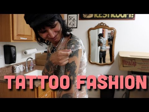 A SLOW WEEK AT THE TATTOO SHOP