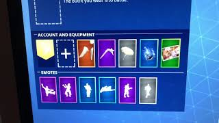 SELLING/TRADING MY FORTNITE ACCOUNT *GINGERBREAD MAN* *RED KNIGHT*