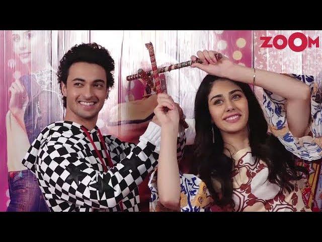 Aayush Sharma, Warina Hussain & Director Abhiraj Minawal Promote Their Film Loveratri