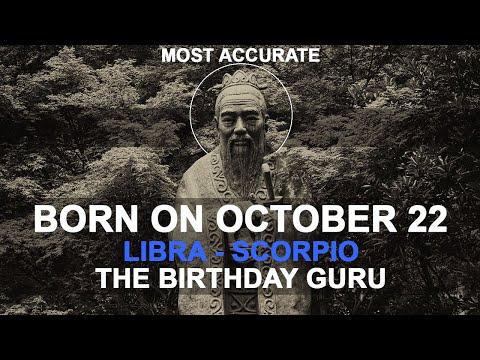 Born on October 22 | Birthday | #aboutyourbirthday | Sample