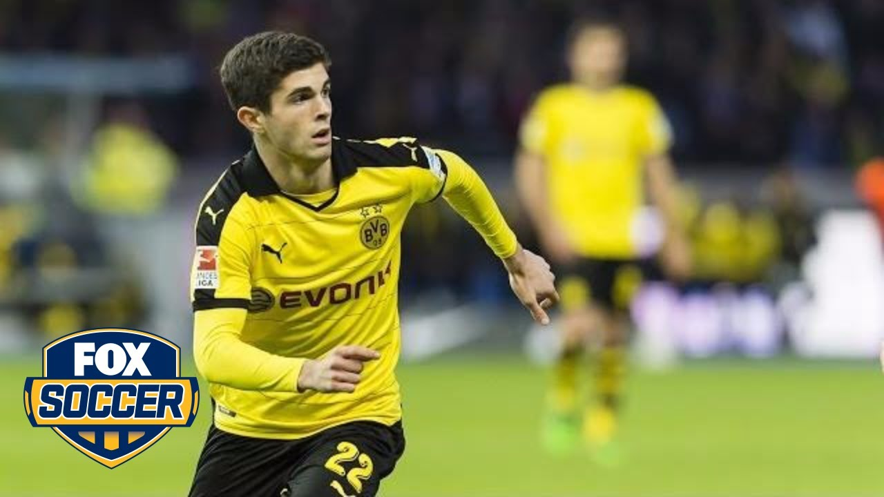 Christian Pulisic Is 18 Years Old & Looks Like the Best Player on the Field