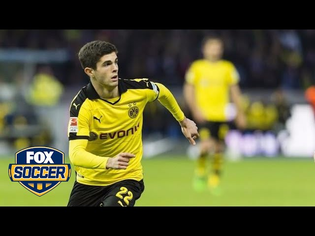 17-year-old American Christian Pulisic making a big impression at Borussia Dortmund