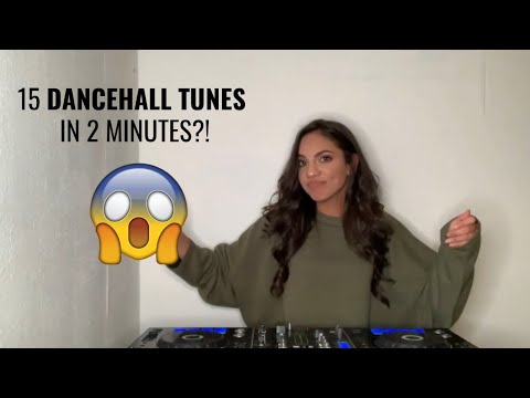 15 FAVORITE DANCEHALL TUNES IN 2 MINUTES! | BY DJ SHANN