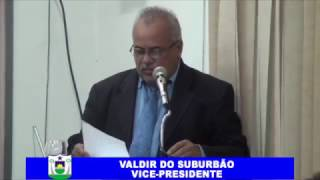 VALDIR DO SUBURBÃO PRONUNCIAMENTO 19 02 2017