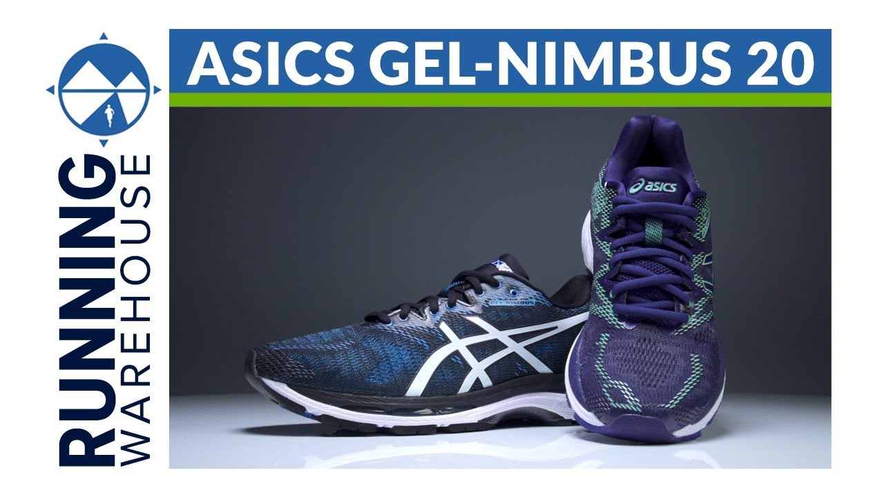 ASICS Gel Nimbus 20 First Look