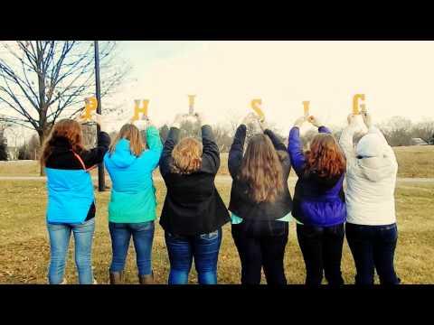 Phi Sigma Sigma Delta Chi Spring 2015