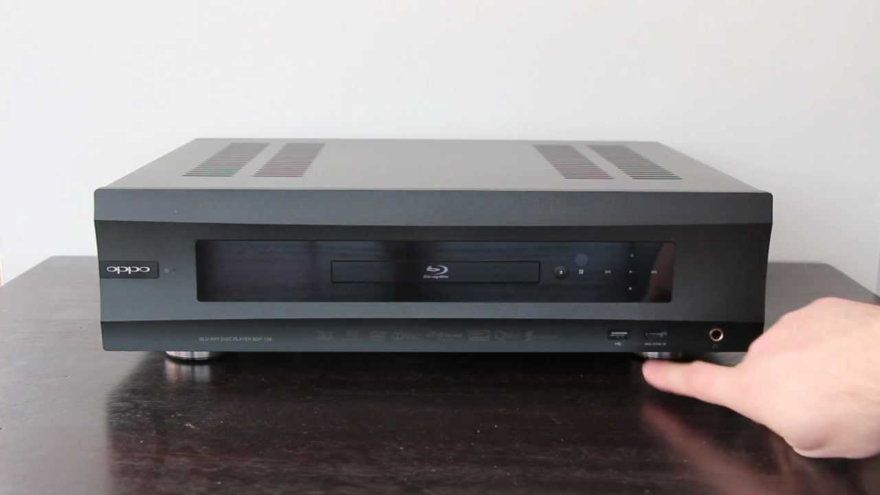 OPPO BDP-105 Blu-ray Disc Player Driver Windows