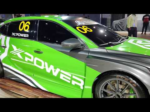 The MG6 XPower Racecar   Auto Expo 2020
