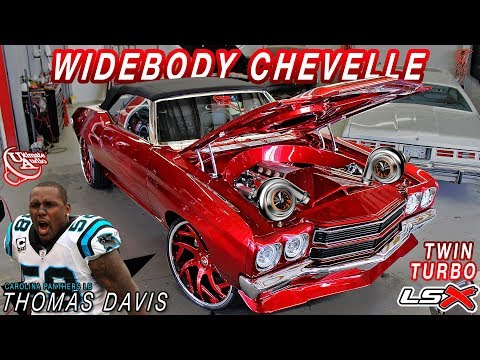 BEFORE & AFTER : TWIN TURBO LSX WIDEBODY CHEVELLE - Ultimate Audio (Carolina Panthers' Thomas Davis)