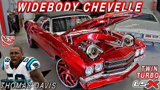 BEFORE & AFTER : TWIN TURBO LSX WIDEBODY CHEVELLE - Ultimate Audio (Carolina Panthers