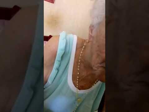Minha vó com 98 anos