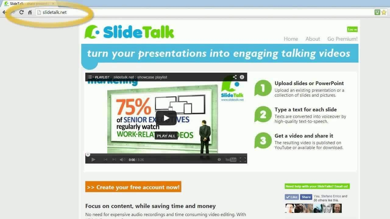 How To Use Slide Talk
