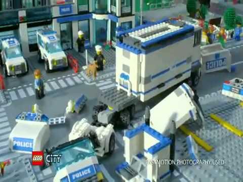 Lego City 7498 Comisaria De Policia En Eurekakids Youtube