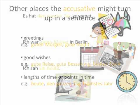 Learn German Grammar: Accusative Case