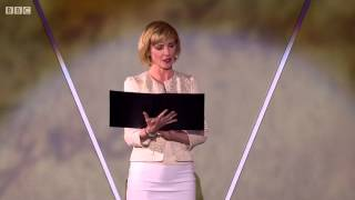 BBC VE Day 70th  - George F Morrison - Read by Jane Horrocks overwhelmed by emotion