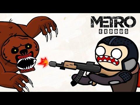 Metro Exodus (Метро Исход) - МУЛЬТ ОБЗОР (анимация)